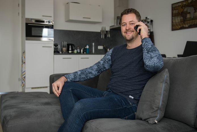 """Mart Groot (foto) belt elke dag met Dinant Wolterink om even de dag door te nemen en om te horen hoe het gaat. """"Heel simpel eigenlijk."""""""