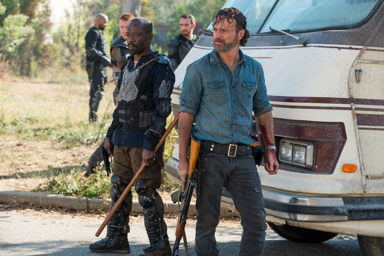 Andrew Lincoln in 'The Walking Dead'.