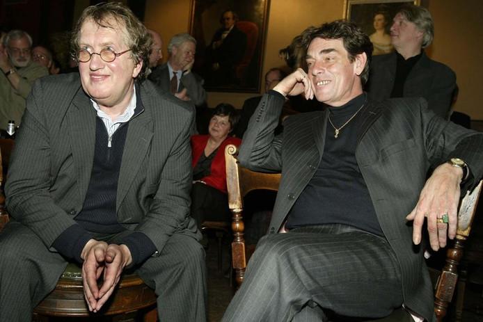 Met partner Charles Hofman op zijn 60ste verjaardag.