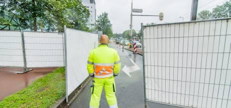 Utrecht maakt zich op voor demonstratie Nederland in opstand, gemeente plaatst witte hekken rond Jaarbeursplein
