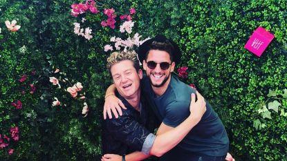 Een knuffel met Jani, een selfie met Fabrizio