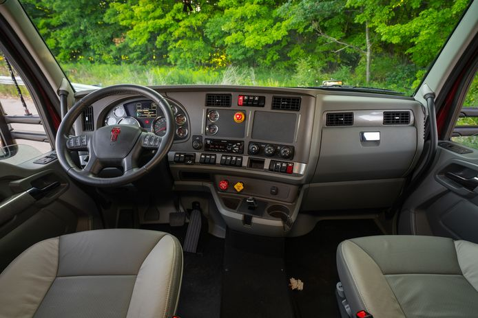 De vorig jaar gepresenteerde waterstoftruck van Toyota en Paccar