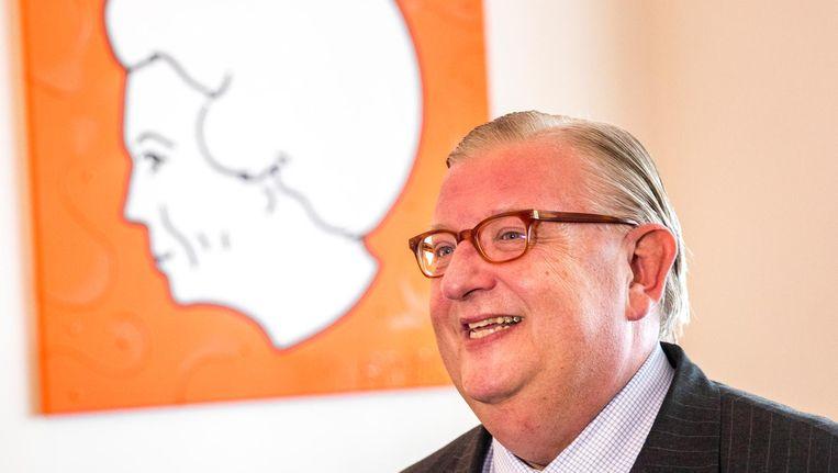 Oud-voorzitter Henry Keizer van de VVD. Beeld ANP