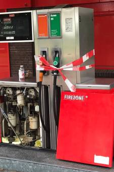Tankstation in Renkum afgesloten door lek in pomp