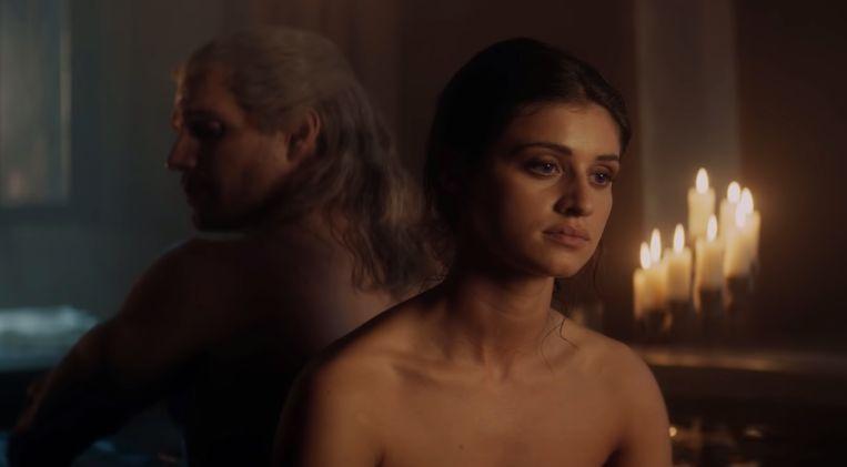 Een beeld uit 'The Witcher'.
