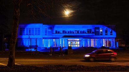 Gemeentehuis kleurt blauw voor darmkanker