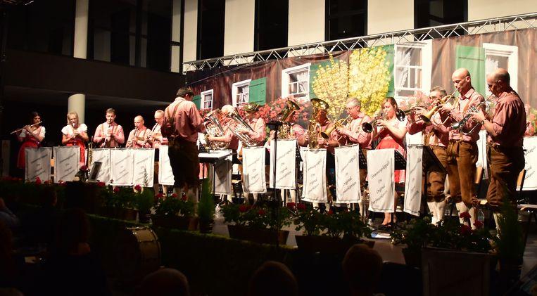 Het Heimatkonzert van Die Original Dorfmusikanten was de eerste activiteit van het jubileumjaar.