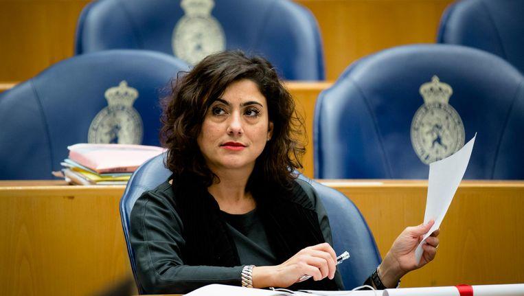Sadet Karabulut (SP) in de Tweede Kamer Beeld anp