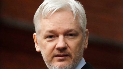 Julian Assange (WikiLeaks) weigert te antwoorden op vragen over zijn banden met Rusland
