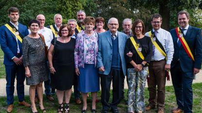Karel Van Houdenhoven en Maria Janssens 60 jaar getrouwd