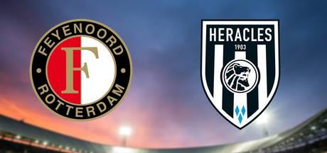Feyenoord op zoek naar eerherstel tegen Heracles
