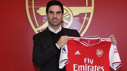 Mikel Arteta volgt Emery op als hoofdcoach bij Arsenal