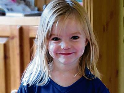 Madeleine McCann op driejarige leeftijd.