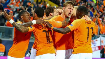 Klungelende Engelsen brengen Oranje in finale