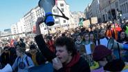 Klimaatspijbelaars na lange afwezigheid opnieuw op straat