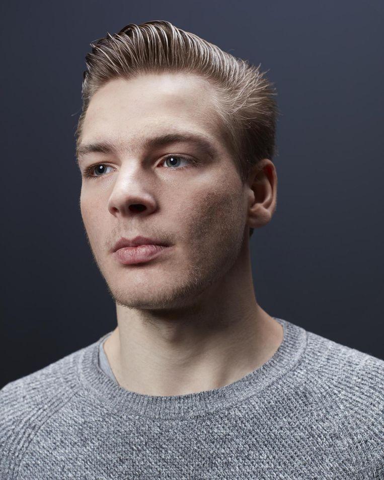 Niels Mittertreiner: 'Als je naar mijn Facebookprofiel kijkt, denk je: die jongen heeft een leuk leven. En niet: die jongen heeft een beperking.' Beeld Erik Smits