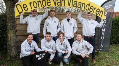 Droomhuis maakt feest van Zeelse doortocht Ronde van Vlaanderen