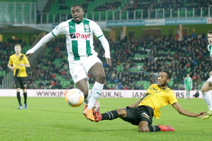 Wedstrijden tegen Emmen en Ajax gingen verloren, maar een echt zware klap krijgt NAC begin december in Groningen. Na een uur staan de Bredanaars nog met 2-1 voor, maar de wedstrijd gaat alsnog met 5-2 verloren. NAC zakt er in de slotfase compleet doorheen.