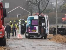 Woningen ontruimd na kapot trekken van gasleiding in Nijmegen