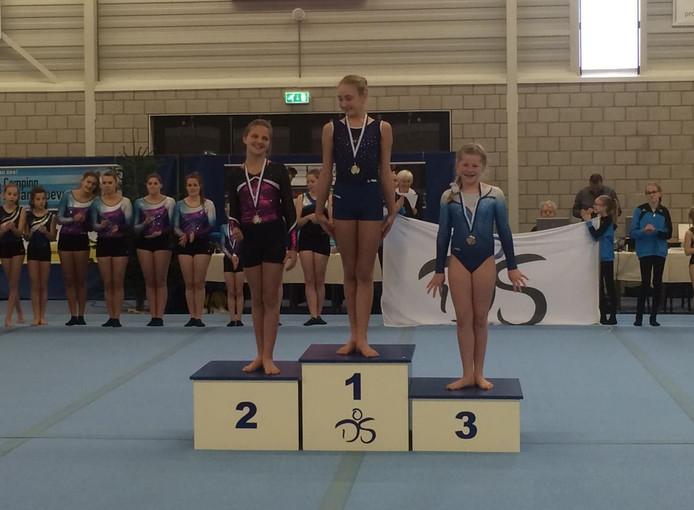 Romany Hanse bezorgde het organiserende Delta Sport een bronzen beloning bij de turnwedstrijden in Zierikzee.