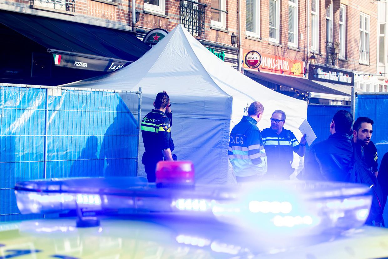 Schietpartij in restaurant Amsterdam-West.