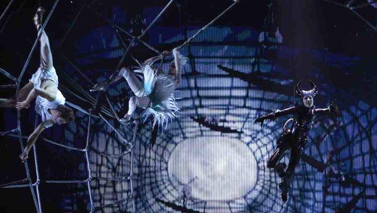 Cirque Du Soleil in de New York City Music Hall. Beeld reuters