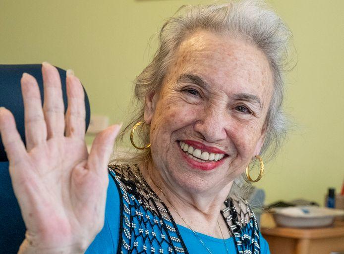 Lilly van Amstel (83) uit Middelburg.