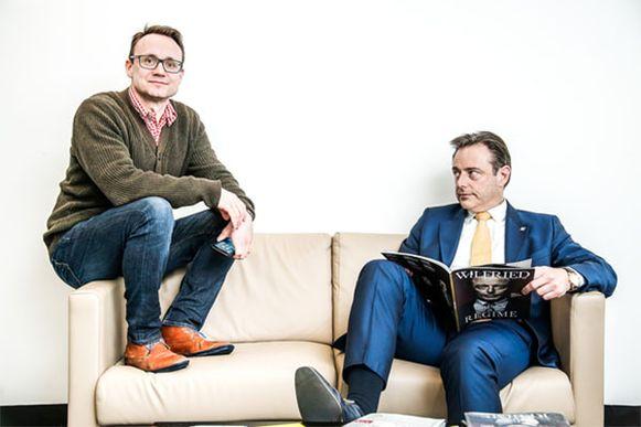 Joachim Pohlmann en Bart De Wever.