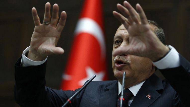 De Turkse premier Erdogan Beeld reuters