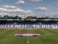 Supporter valt van tribune tijdens voetbalwedstrijd in Willem II stadion