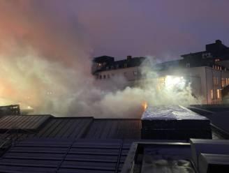 Brand in Bozar: brandweer massaal ter plaatse na vlammen op dak