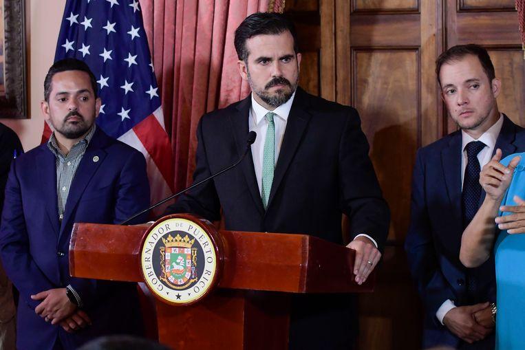 Ricardo Rossello, gouverneur van Puerto Rico.