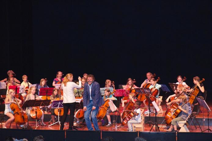 Foto van het Zutphense Cellofestival van vorig jaar.