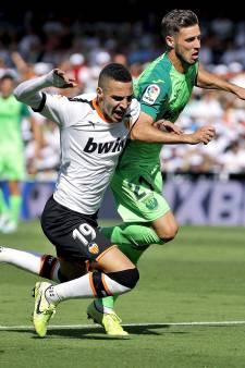 Ajax-opponent Valencia morst punten tegen hekkensluiter