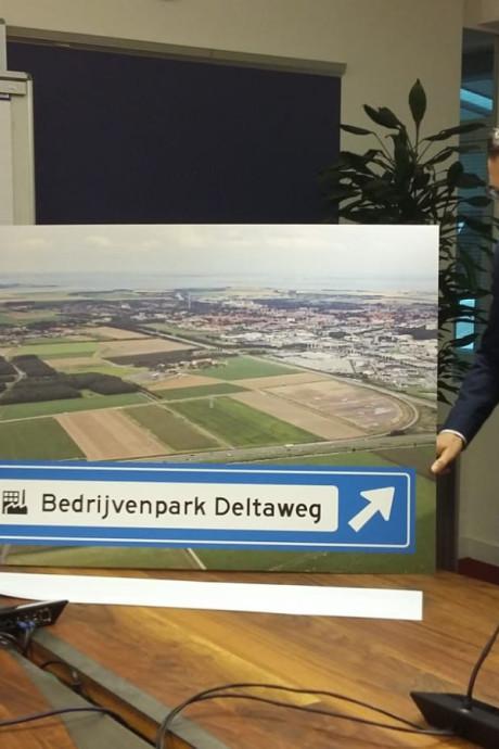 Nieuwe bedrijventerrein in Goes gaat Bedrijvenpark Deltaweg heten