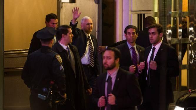 Vicepresident Mike Pence uitgejouwd bij musical, Trump eist excuses