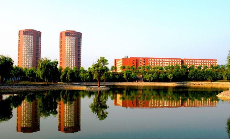 De Rijksuniversiteit Groningen gaat in de Chinese stad Yantai een dependance oprichten.  Beeld RV