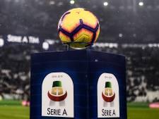 Pas de reprise de la Serie A avant le 14 juin