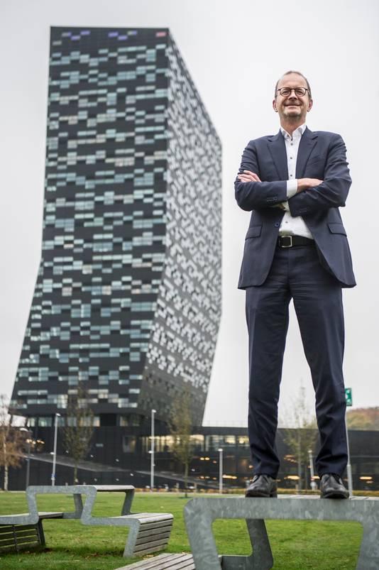 Rikus Wolbers, directeur van NovioTechCampus: ,,Health en hightech komen hier samen.''