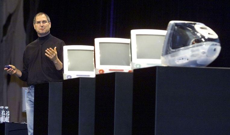 ...met de eerste iMacs. Beeld reuters