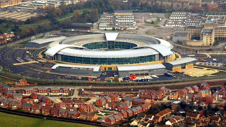 Het hoofdkwartier van de Britse inlichtingendienst GCHQ (Government Communication Headquarters). Beeld anp
