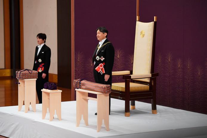 De nieuwe keizer Naruhito.