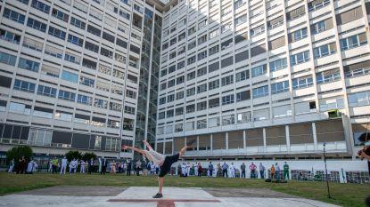 """Opera Ballet Vlaanderen geeft liveperformance op helikopterplatform ZNA Middelheim: """"Er zijn voor de anderen is een van de verbindingstekens tussen kunst en zorg"""""""