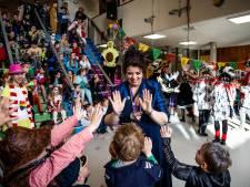Met Carnaval-Stuiterbal begint in Bemmel de lol op school