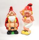 Kabouters Raf en Betty worden al zeker tien verkocht door Tuincentrum Pelckmans.