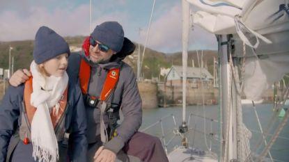 Tom Waes zeilt naar Engeland met kleine Oona in eerste beelden van 'De Blacklist'