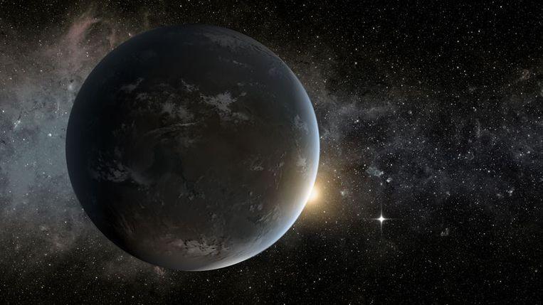 Kepler-62f. Beeld afp