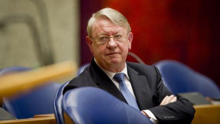 Minister Hans Hillen van Defensie © anp Beeld