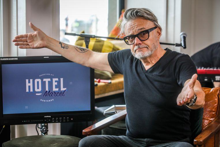 Hotel Marcel met Marcel Vanthilt is te gast in Oostende