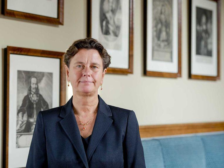 PVV-lijsttrekker voor de Eerste Kamer Marjolein Faber. Beeld anp